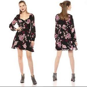 Cupcake & Cashmere Rose Floral Mini Dress